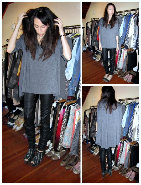 zara and highlow top collage